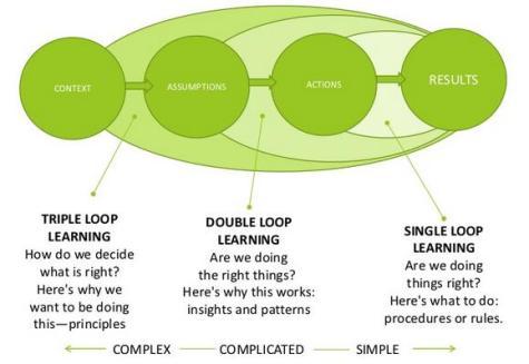 Single, Double, Triple Loop Learning