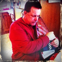 "A friend of mine, an ex biker, used to ask me to play some of that ""angel music."" He loved the autoharp."